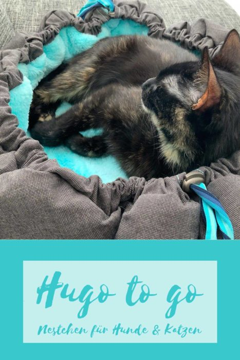 Katzenkörbchen nähen mit Hugo to go