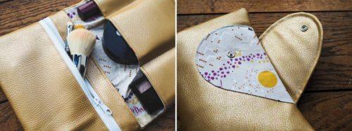 Pike Aufbewahrung für Kosmetik und Alltagsmasken selber nähen mit dem Ebook von farbenmix