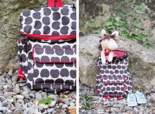 Kinderrucksack nähen mit Ukkolino ein Foldover Rucksack für Kinder ebook von farbenmix