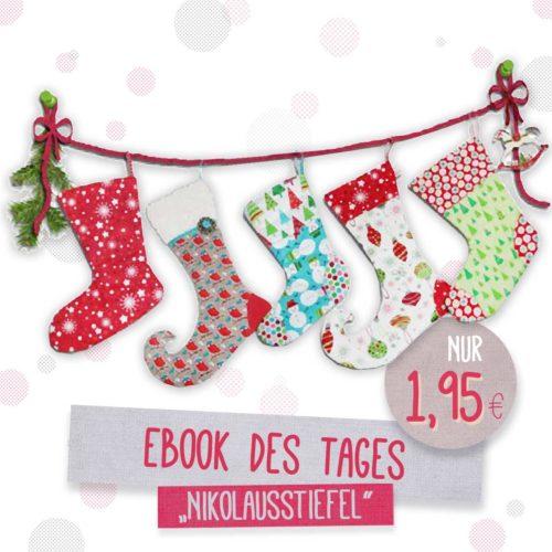 selbstgenähte Deko und Geschenke zu Weihnachten mit Ebooks von farbenmix