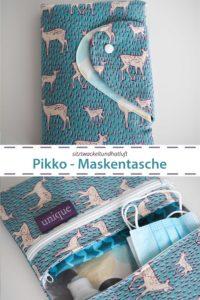PIKKO Maskentäschchen und mehr Ebook von farbenmix Design sitzwackeltundhatluft
