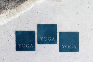 Yoga Nählabel farbenmix Just Be für Sport und Freizeit