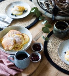 Fluffige Pancakes Rezept Frühstück bei Emma