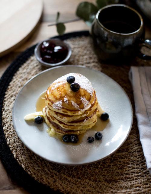 Adventskalender 2020 Tag 21 Frühstück bei Emma mit Pancakes