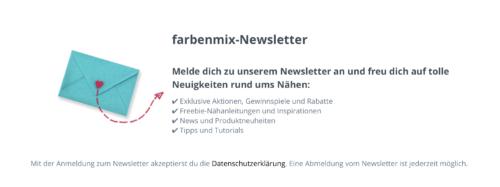 farbenmix Newsletter