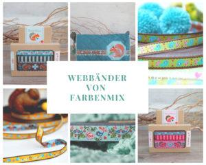 Webband Inspirationen von farbenmix