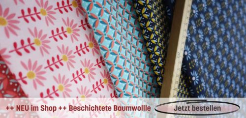 beschichtete Baumwolle - tolle neue Muster und Farben
