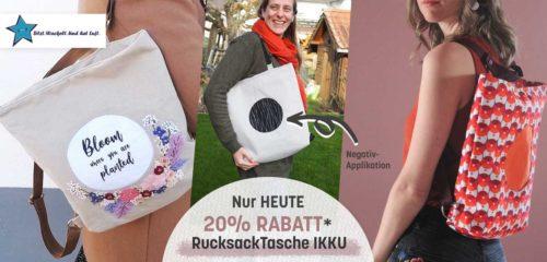 Ikku Bag heute zum Einführungspreis