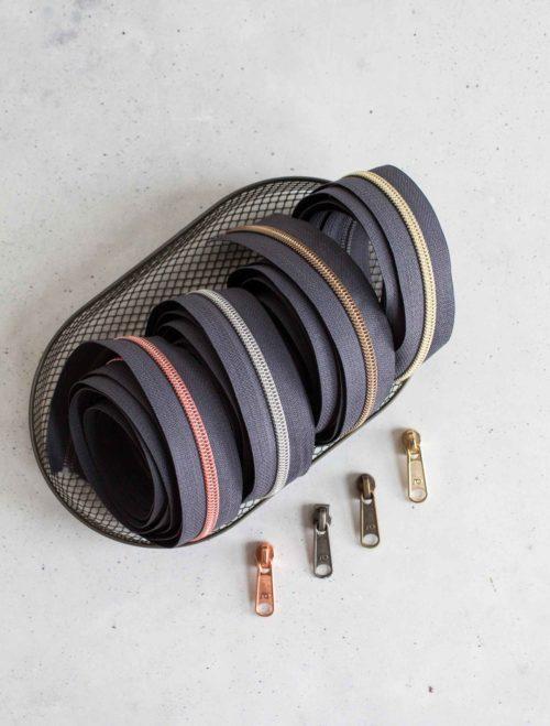 Endlosreißverschlüsse - Taschenzubehör von farbenmix