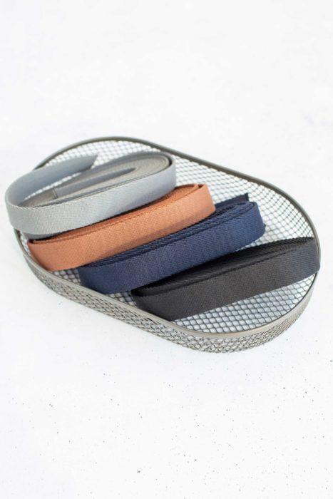 schmales Gurtband von farbenmix Taschenzubehör