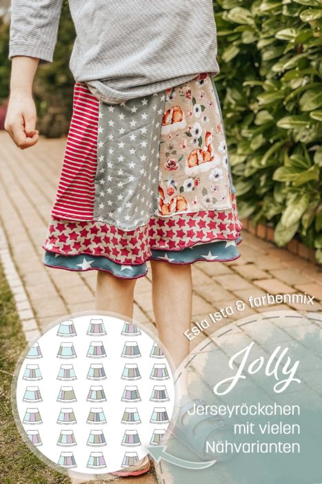 SM Jerseyrock für Mädchen