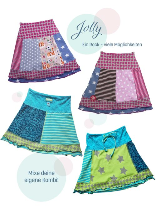 Jerseyrock für Kinder JOLLY