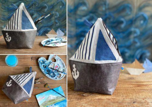 Kulturboot AmbaZamba Waschbeutel für Kinder nähen Ebook