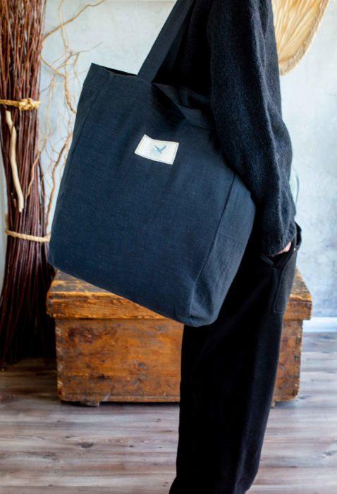 Leinen tolles Material für Taschen