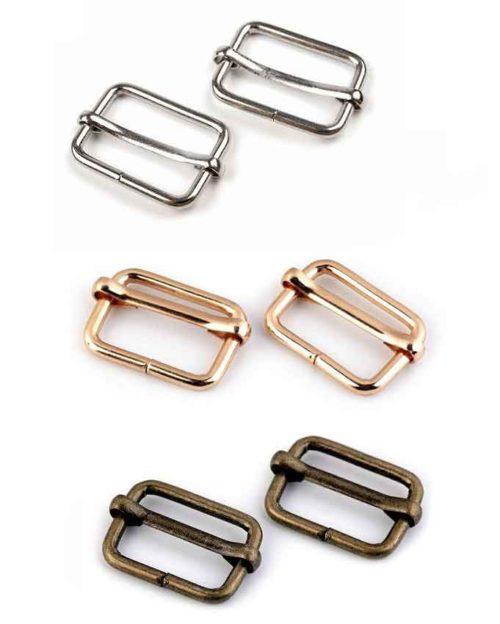 Leiterschnallen Gurtversteller farbenmix  Taschenzubehör