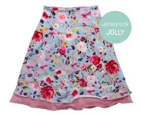 Blütenjersey für Jerseyröcke