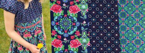 Popelines für Einschulungskleider Stoffe für Kleider farbemix Stoffshop
