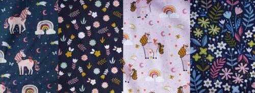 wunderschöne Popeline Stoffe für Kleider Blusen und Hosen