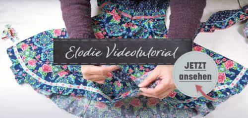 Schnittmuster Einschulungskleid ELODIE jetzt mit Videoanleitung