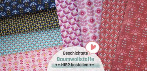 beschichtete Baumwolle Farbenmix