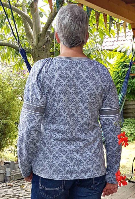 Folklore shirt nähen