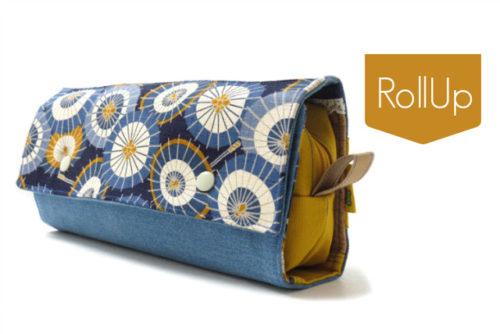 Roll-Up Tasche farbenmix