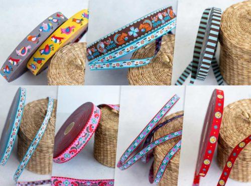 Bortenbänder aus der Designer Kollektion