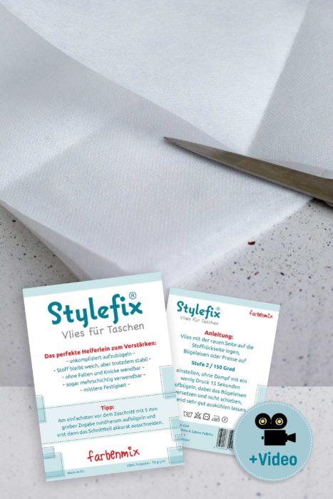 Stylefix Vlies für Taschen jetzt dauerhaft im farbenmix Stoff
